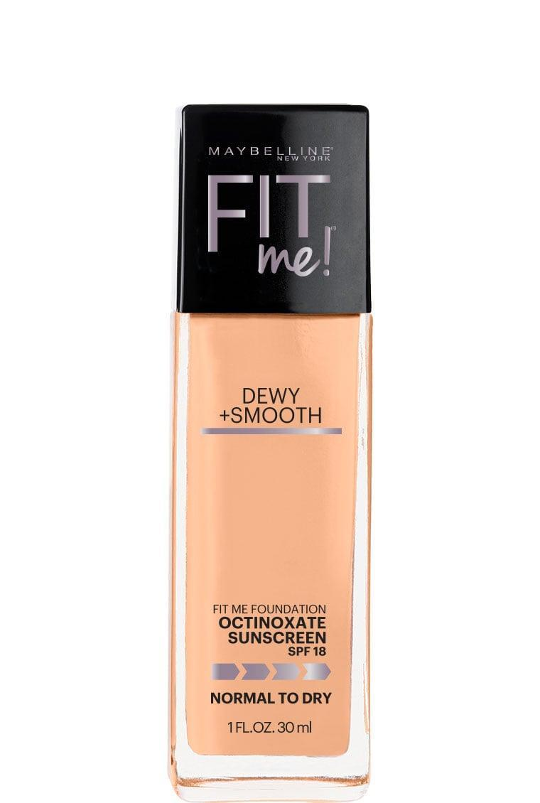 """<p>Grab the <span>Maybelline Fit Me Dewey + Smooth Foundation</span> ($8) the next time you want a """"glowing from within"""" look.</p>"""