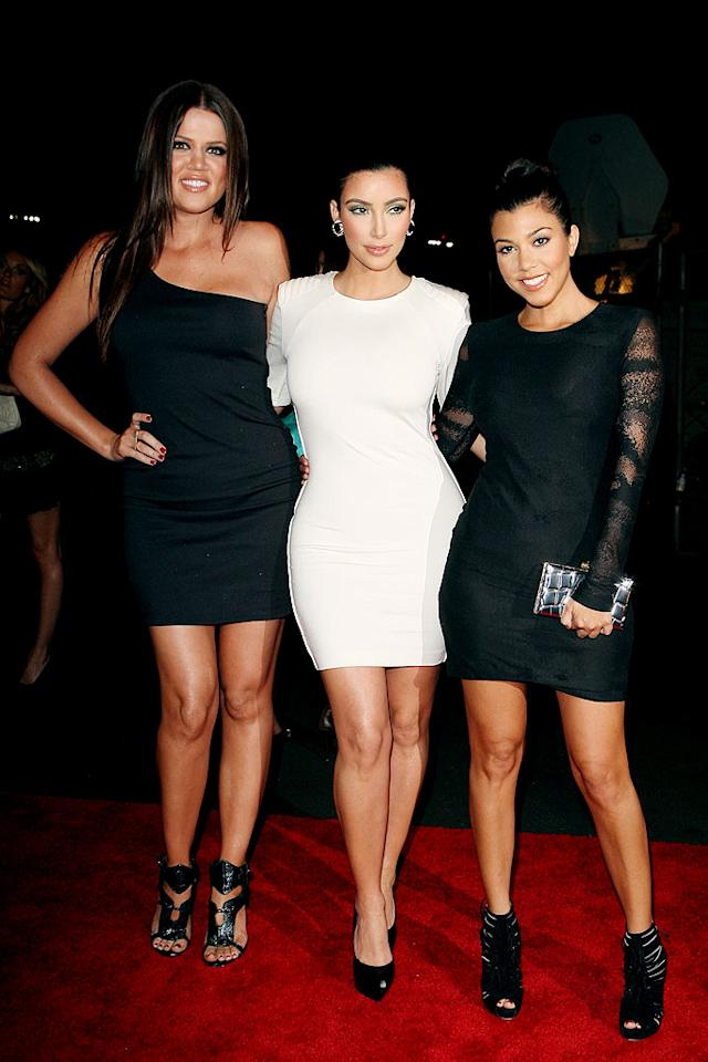 "Khloe and Kourtney Kardashian have another reason to be jealous of their sister Kim. Kim was the only Kardashian to make Maxim's list (at no. 53). Flash Pics/<a href=""http://www.splashnewsonline.com"" target=""new"">Splash News</a> - May 14, 2009"
