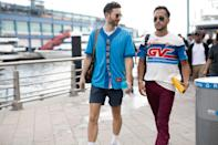 """<p>New York fashion week is one of the best - as much as that pains British style writers to say. Like all things stateside, the fashion circle goes big: big on prints, big on statement, big on the shows (<a rel=""""nofollow noopener"""" href=""""https://www.esquire.com/uk/style/fashion/a23003716/every-single-thing-youll-want-from-tom-fords-ss19-show/"""" target=""""_blank"""" data-ylk=""""slk:see the Tom Ford SS19 circus for further details"""" class=""""link rapid-noclick-resp"""">see the Tom Ford SS19 circus for further details</a>).<br></p><p>This season was no different. Though just as impressive as the clothes on the runway were those outside of them; the trend-carving moves made from fashion insiders that are just as influential as the designers themselves. Here are 10 of the best from the Big Apple. <br></p>"""