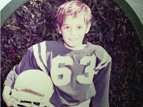 Bill Hemmer in third grade.