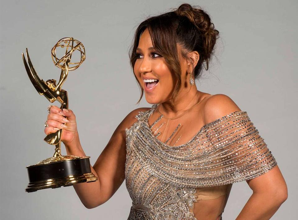 Adrienne Bailon, 2018 Daytime Emmy Awards