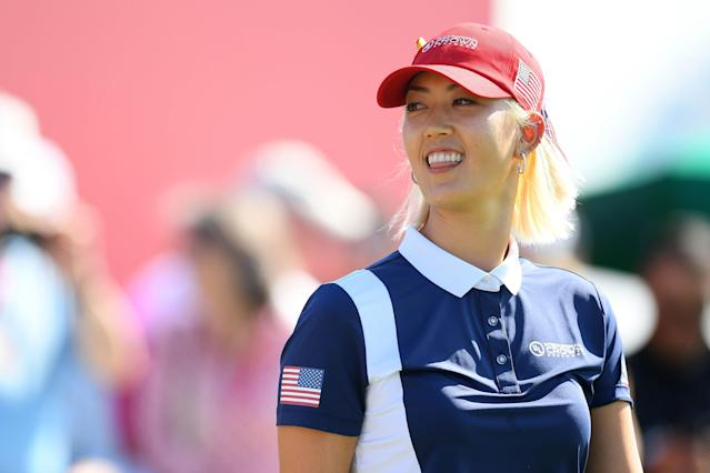 Michelle Wie had surgery on Thursday to fix an injury to her right hand that had kept her sidelined for much of the second half of 2018