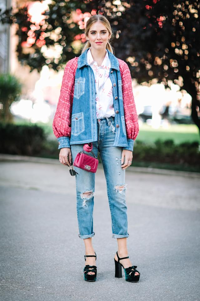 """<p>Easy flats and sneakers have dominated our wardrobes in recent seasons, but it's time to make room for a pair of fun, <a rel=""""nofollow"""" href=""""http://www.glamour.com/story/the-fall-2016-shoes-petite-girls-are-going-to-love?mbid=synd_yahoostyle"""">more-is-more platforms</a> too. Your shoe game shouldn't be <em>all</em> business <em>all</em> the time.</p>"""