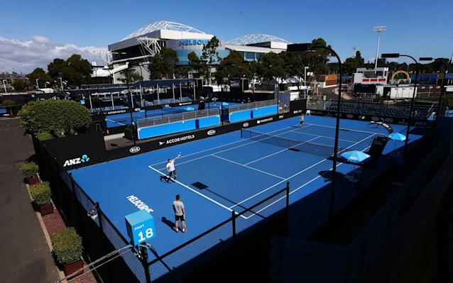 The Australian Open gets under way on Monday - Getty Images AsiaPac