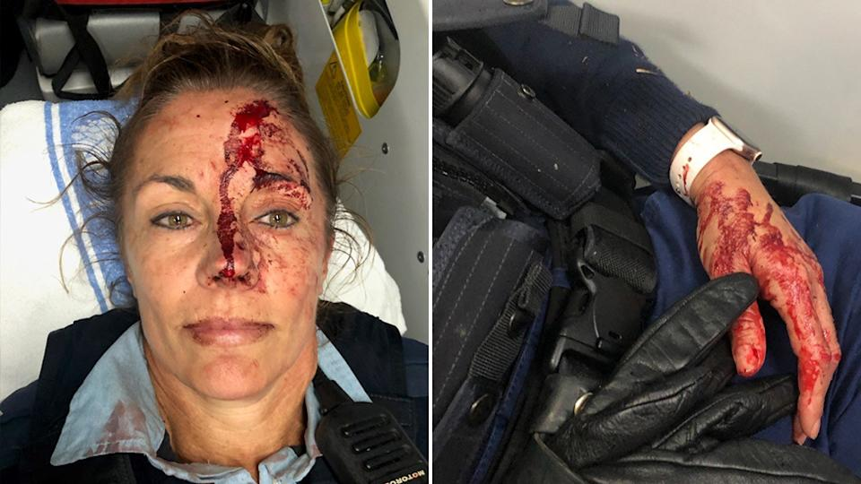 A 47-year-old female senior constable was allegedly attacked by a man on the NSW Central Coast on Tuesday morning. Source: NSW Police