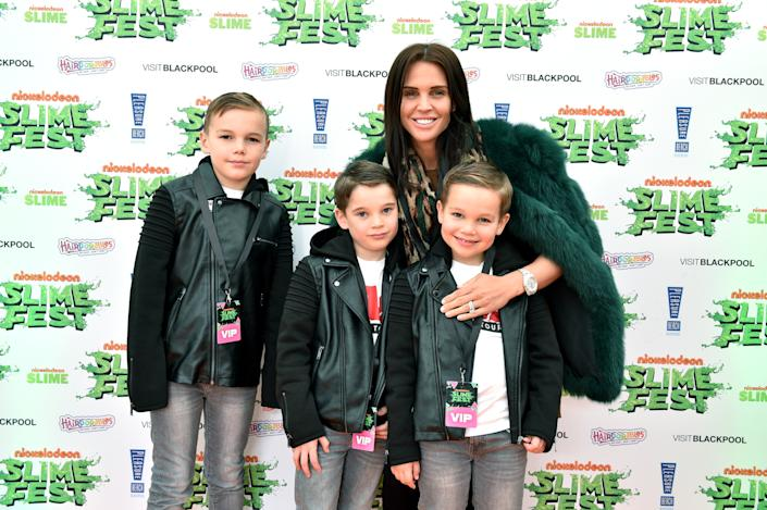 Danielle Lloyd praised her sons for coming to her rescue. (Photo by Shirlaine Forrest/Getty Images for Nickelodeon Slimefest)