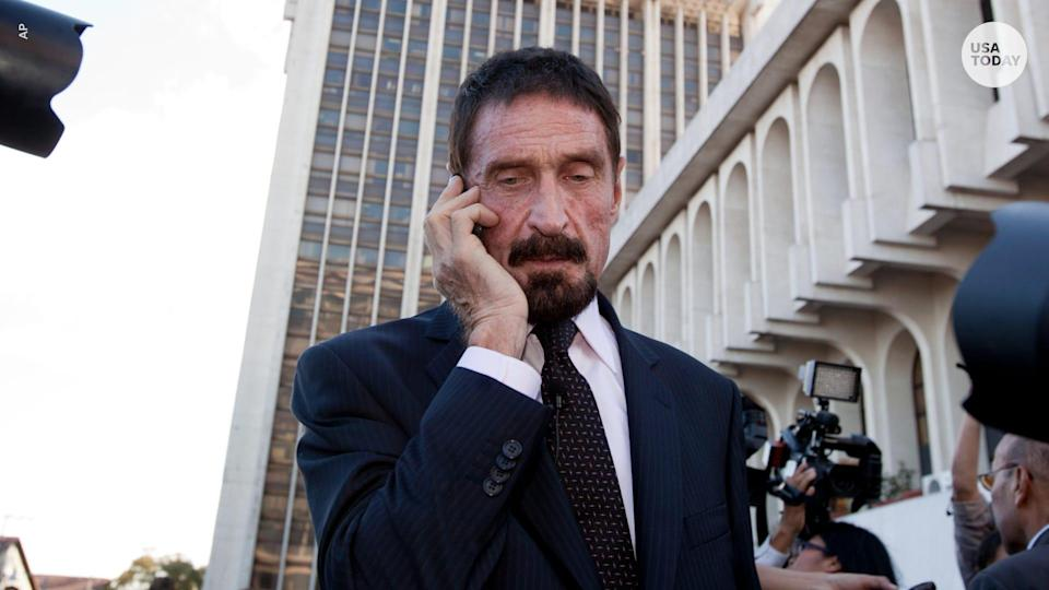 John McAfee, the antivirus software entrepreneur who faced extradition to the U.S. on tax-related criminal charges, was reportedly found dead.