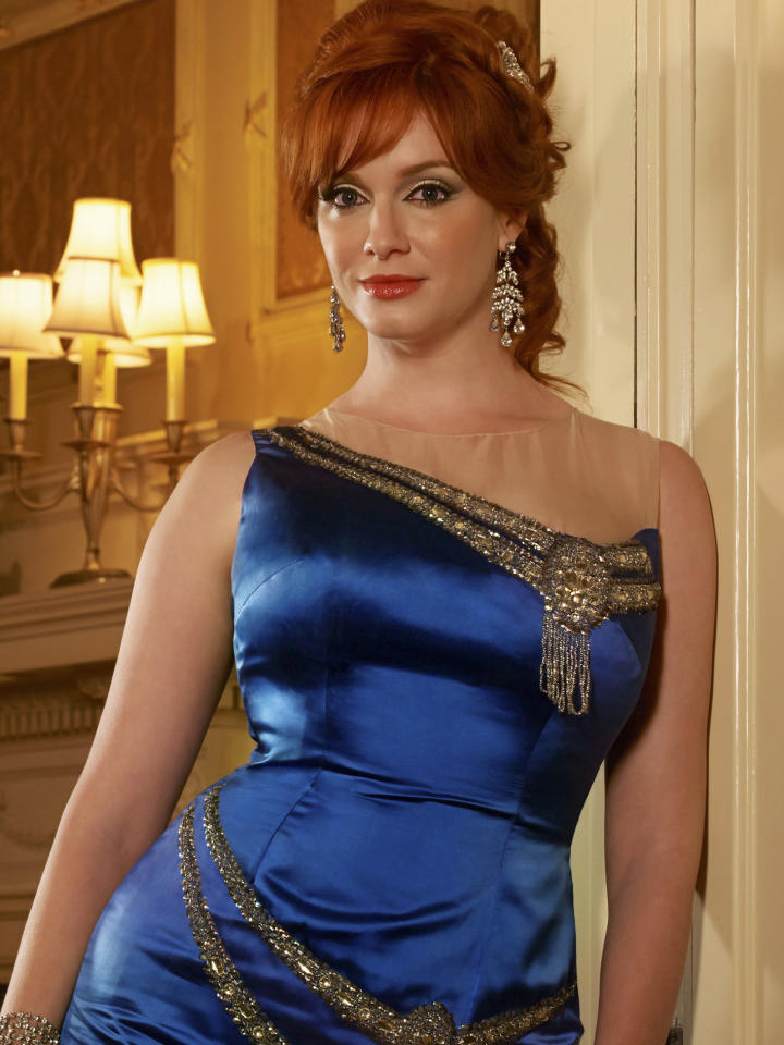 Joan Harris (Christina Hendricks) - Mad Men - Season 6 - Gallery - Photo Credit: Frank Ockenfels/AMC