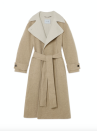 """<p><a class=""""link rapid-noclick-resp"""" href=""""https://www.jigsaw-online.com/collections/new-in-womens/products/slade-double-face-trench-cream"""" rel=""""nofollow noopener"""" target=""""_blank"""" data-ylk=""""slk:SHOP NOW""""> SHOP NOW</a></p><p>Jigsaw's design is double-faced, rather than lined, which makes it look much more expensive than it actually is. We like how the cream lining is showcased in the wide spread collar, the contrast colours setting this neutral coat apart from classic camel styles. </p><p>Slade Double Face Trench, £350, Jigsaw</p>"""