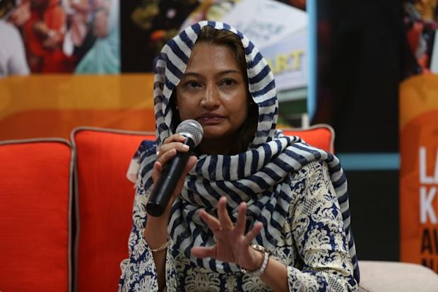 Sisters in Islam (SIS) programme manager Shareena Sheriff speaking during the AWAN forum on child rape.