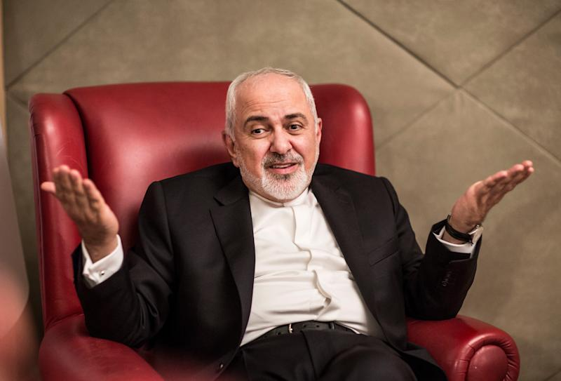 Mohammad Javad Zarif, the Minister of Foreign Affairs of Iran, speaks with USA TODAY reporter Kim Hjelmgaard in Antalya, Turkey on Nov. 3, 2018