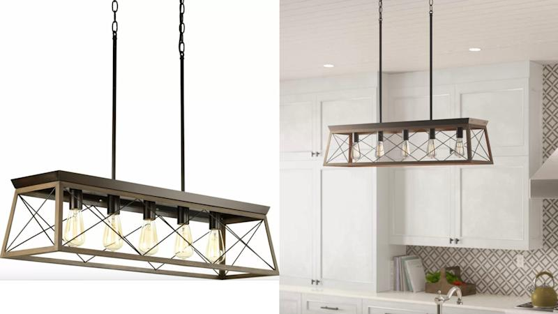 Just imagine this light above your kitchen island.