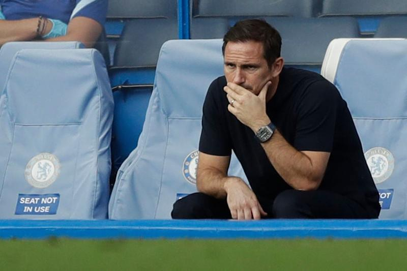 Frank Lampard will hope his Chelsea side bounce back in the cup (POOL/AFP via Getty Images)