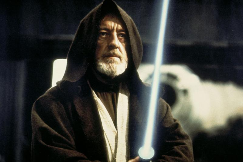 Obi-Wan-Kenobi in 'Star Wars' was among Guinness's least characteristic roles. He hardly ever played conventional heroic typesRex Features