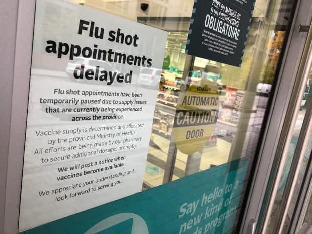 Frustration grows as flu vaccine supply shrinks in Ottawa