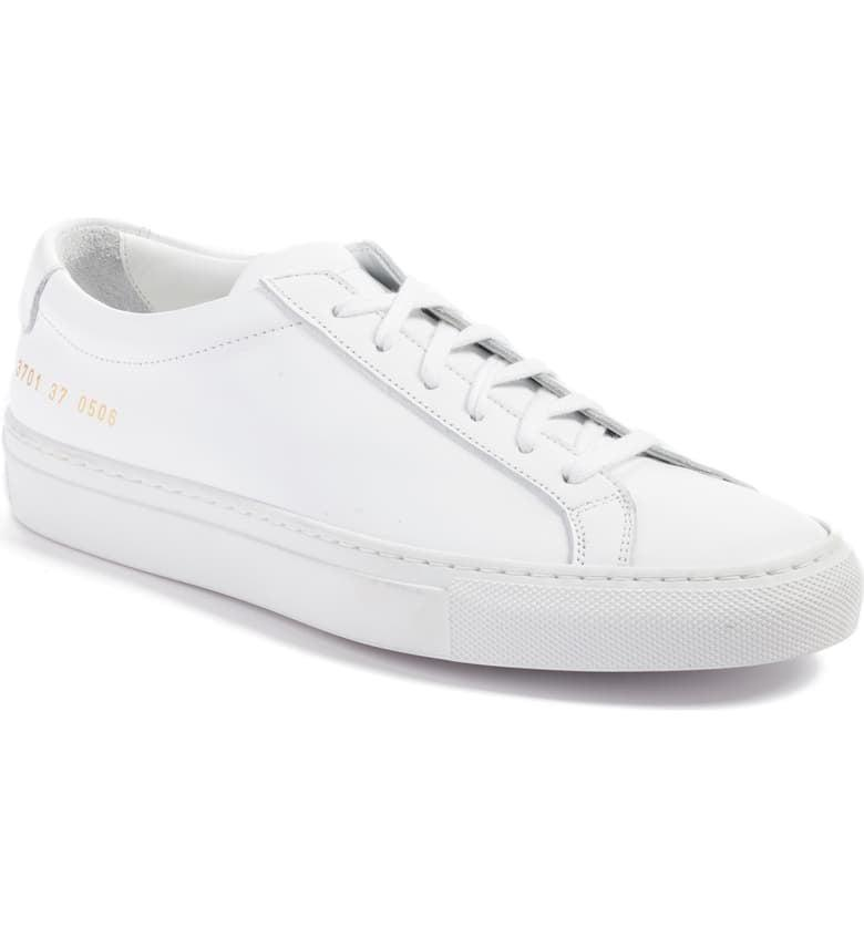 <p>They're sleek and sophisticated, so you'll wear these <span>Common Projects Original Achilles Sneakers</span> ($411) over and over again. The leather adds a luxe touch.</p>
