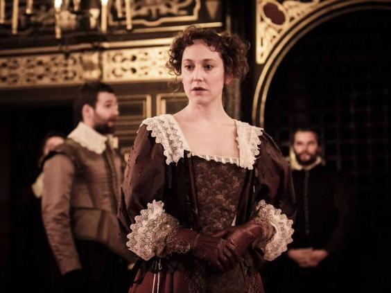 Hattie Morahan in 'The Changeling' at the Sam Wanamaker Playhouse, 2015