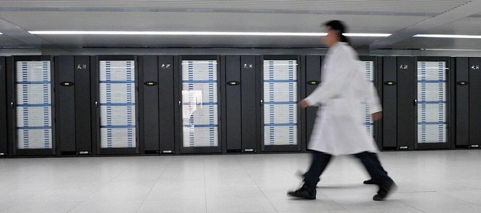 The Tianhe-1 supercomputer at the National Supercomputing Centre in Tianjin, China. Photo: Getty Images