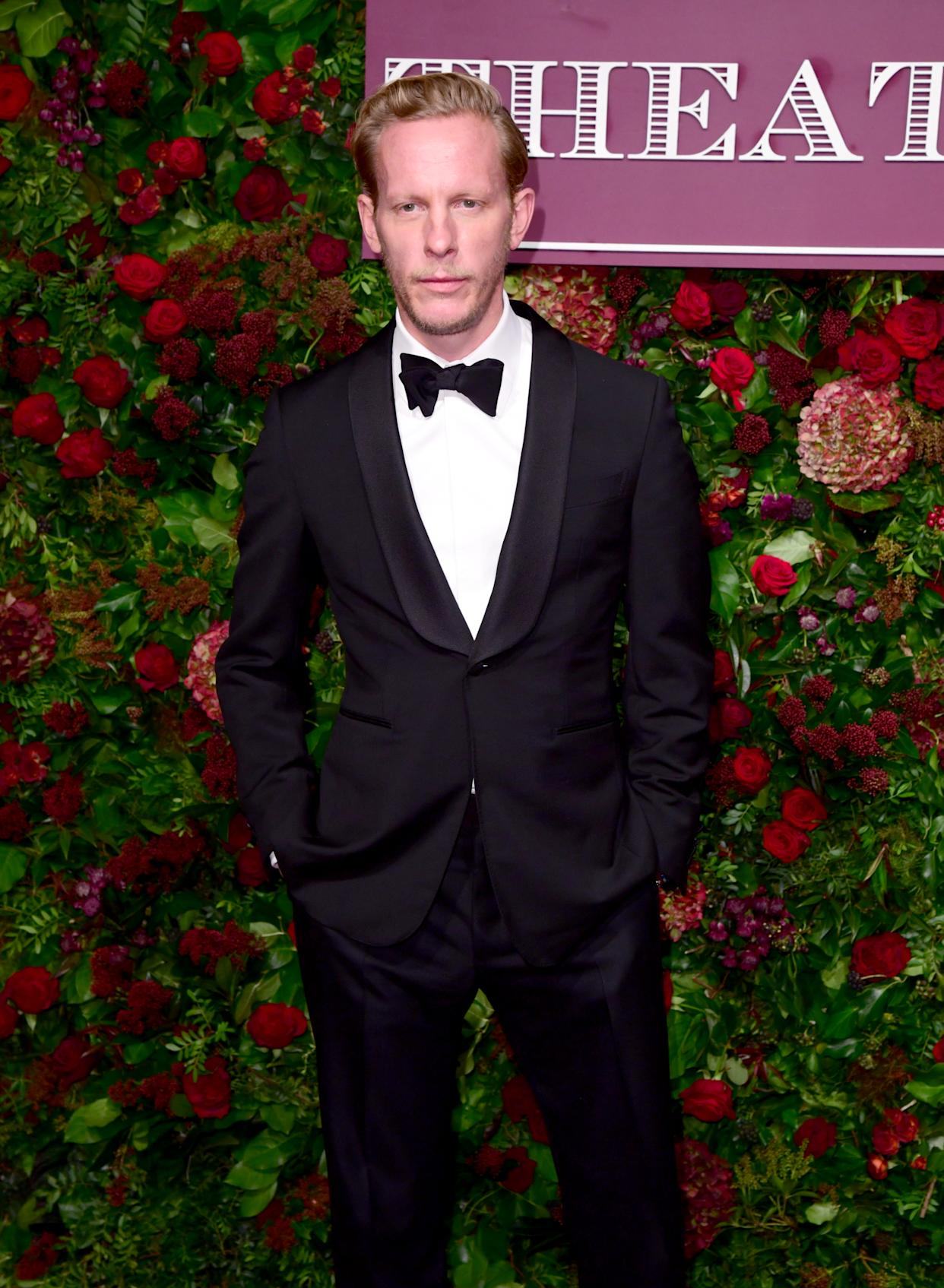 Laurence Fox attending the 65th Evening Standard Theatre Awards at the London Coliseum, London. (Photo by Ian West/PA Images via Getty Images)