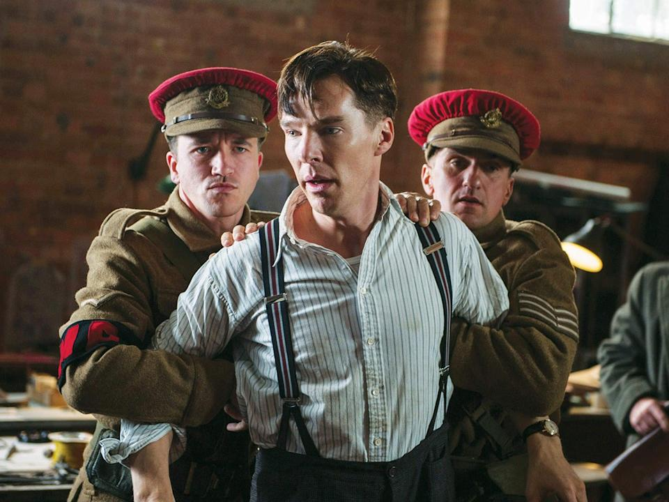 Cumberbatch as Alan Turing in the Oscar-nominated The Imitation GameThe Weinstein Company