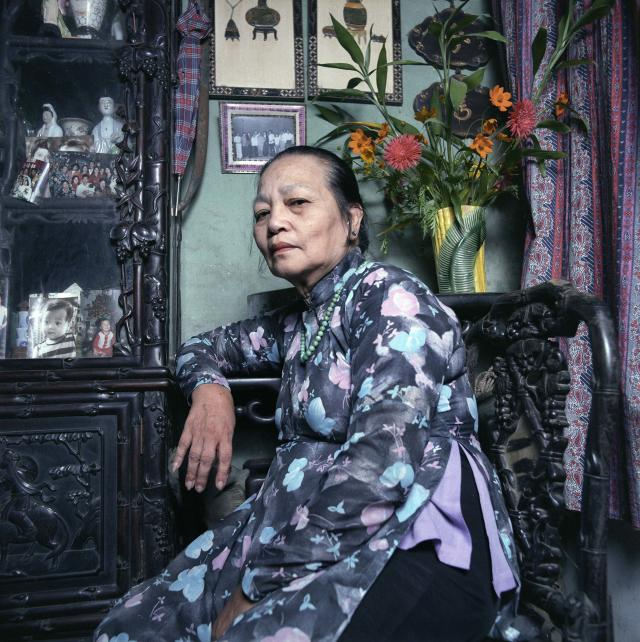"<p>Mother of a soldier missing in action, 1986. (© William E. Crawford from the book ""Hanoi Streets 1985-2015: In the Years of Forgetting"") </p>"