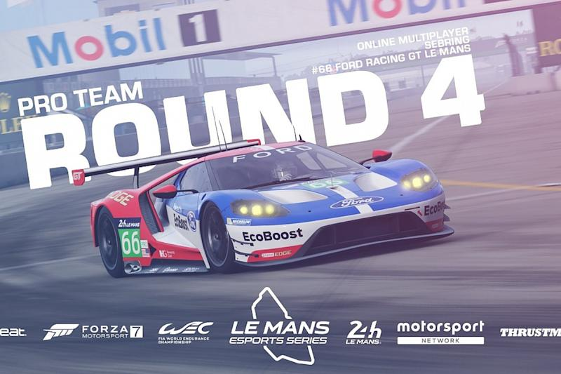 Watch Live: Le Mans Esports Series race at Sebring