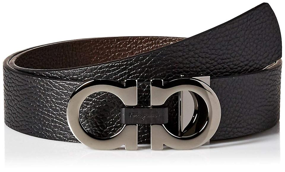 <p>The Italian label known for making impeccable leather goods is surprisingly marked down at Amazon Prime Day. We're grabbing the signature men's double Gancini belt— perfect gift for the Mr. in your life.</p>