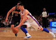 Jeremy Lin: The month of February belonged to Jeremy Lin. Not virtually, literally overnight he became a national sensation when playing for the New York Knicks he dropped 25 points on the New Jersey Nets, the first of six straight games in which he scored 20 points or more. The results haven't been as favorable for Lin in his move to Houston, but he's gone from sleeping on a friend's couch to signing a three-year, $25 million contract.