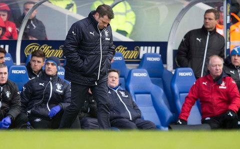 "Neil McCann has never earned a living in the freight transfer business, but he has the character for it, to judge by the ease with which the Dundee manager dispatched a sizeable chunk of baggage to his opposite number at Ibrox. Dundee have taken two points from a possible nine in their three most recent outings and would be in immediate peril of dropping into the Scottish Premiership play-off place had it not been for Partick Thistle's midweek defeat at Ross County, which has opened a four-point gap between the two bottom clubs and the Dens Park side. Rangers, meanwhile, have shed eight points in three games against Celtic, Kilmarnock and Motherwell and have slipped back to third in the table, a circumstance which McCann interpreted in terms of the stress borne by Graeme Murty, who is in charge at Ibrox on an interim basis. ""I'd imagine Graeme would be under an enormous amount of pressure because it's a short-term appointment,"" McCann said. ""The expectation levels at Rangers are enormous anyway so he probably has to get results quicker. McCann was encouraged by Dundee's display at Celtic Park Credit: PA ""I certainly think he has grown into that job since the last time he was here and we beat them (in November). He probably looks a little more comfortable in his own skin as being Rangers manager. To be a manager of an Old Firm team, I can only imagine it must be an incredible thing to deal with."" Ahead of Dundee's visit to Ibrox on Saturday, McCann has been buoyed by his players' sound showing in Wednesday's goalless draw at Celtic Park, where Murty was impressed by their display. ""Dundee were excellent at Celtic Park in midweek,"" said the Rangers manager. ""Their organisation, structure, intensity and work rate for one another was great and they caused Celtic a threat at times so we have to be aware of what they're going to do, but we have to go and push the issue and press the game and make sure we play the right intensity and tempo to put them on the back foot and make them as uncomfortable as possible."" Aberdeen leapfrogged Rangers into second place in midweek and, given that the aim specified by the Ibrox chairman, Dave King, was to finish midway between the Dons and Celtic, Murty has a daunting task to achieve that target, especially after having had to berate his players at half-time at Motherwell last week, before they recovered to earn a 2-2 draw. ""I think it will go down to the wire,"" he said. ""Everyone is playing well and everyone is capable of beating one another. It's good for the league, it's really good for the neutral. Murty's Rangers side have slipped back to the third in the Scottish Premiership Credit: PA ""I don't think it's necessarily good for the managers in terms of stress levels, but it's the most competitive it's been in a while. Sometimes you are scratching your head as to why it doesn't translate into a good performance."" In Rangers' case, one obvious factor was defeat by the odd goal in five to a Celtic side reduced to 10 men in the Old Firm derby last month. ""Given the expectancy in the air going into the game - from the players, from the fans, from Ibrox - going up twice and coming away with a negative in that game has possibly had more of an impact that we had foreseen,"" Murty said. ""But we have to reinforce the players' belief in one another in themselves and what we're doing to continue our journey on an upward path."" Since he was asked to take charge of the team until the end of the season, after the hapless Pedro Caixinha was sacked in October, Murty has presented a courteous and level-headed demeanour, both to the public and his players. The notion that he is perennially mild-mannered, though, evaporated during his interval rant at Fir Park, following an embarrassing display of ineptitude which Motherwell exploited to take a 2-0 lead. ""That's a side they wouldn't have seen of me,"" he said. ""We're all capable of being many different people. You have to be able to utilise the right tool for the right situation and the time was right I felt to be a wee bit angry. ""It hasn't been necessary before. When I've had to change things before it's been more tactical or personnel based. ""I just felt we didn't stand up to the challenge in the first half and I said to the players they had to step up because I couldn't do it for them. You can cajole and change shape structurally but once they cross the white line the players have to step up and do it because I can't pass the ball and put it in the net for them."""