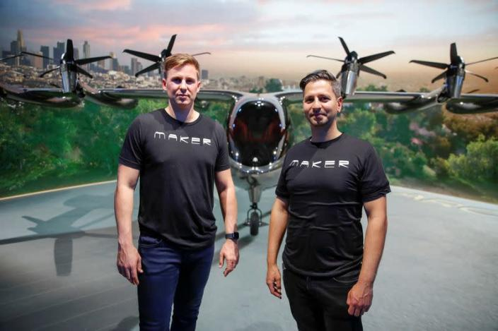 Flying taxi company Archer Aviation unveils all-electric aircraft in Los Angeles