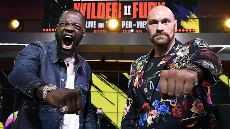 Wilder: My two-year-old punches harder than Fury