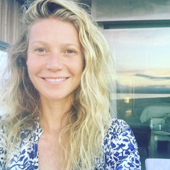 """<p><strong>When: Sept. 27, 2016 </strong><br> """"#nomakeup for my 44th birthday, embracing my past and future. Thank you for the instalove #goopgoesmakeupfree @goop"""" (Photo: Instagram) </p>"""
