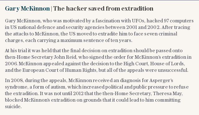 Gary McKinnon | The hacker saved from extradition