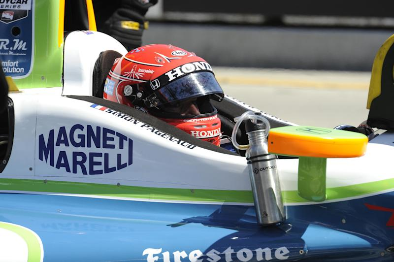 Pagenaud and Bourdais lead IndyCar at Long Beach