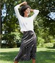 <p>You can style this <span>Loft Crane Fluted Midi Skirt</span> ($70) so many ways.</p>