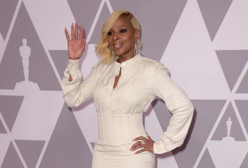 Mary J. Blige. Credit: Kevin Winter/Getty Images: Mary J. Blige. Credit: Kevin Winter/Getty Images