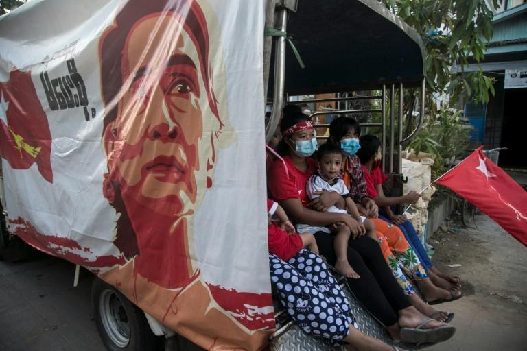 Myanmar's ruling National League for Democracy (NLD) won 346 seats in elections held last Sunday -- but the opposition and rights groups condemned irregularities