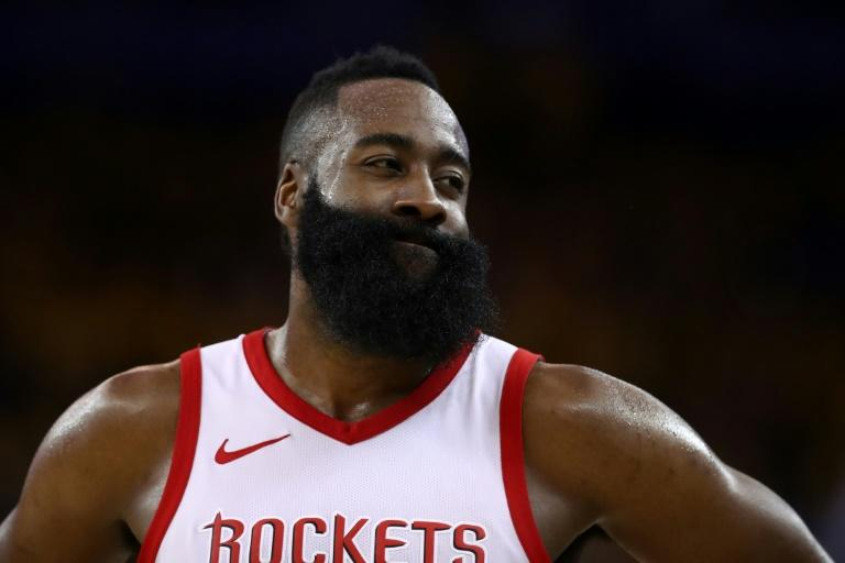 James Harden, this season's NBA scoring champion with an average 30.4 points a game, joins LeBron James on the 12th All-NBA First Team as a unanimous selection