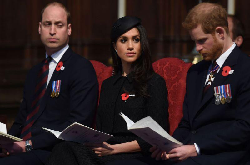 Then, over the weekend it was reported that Prince William reportedly wants Harry and Meghan sent on a multi-year assignment to Africa in a bid to keep the spotlight firmly fixed on his own family. Photo: Getty Images