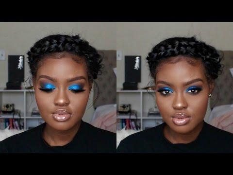 """<p>For a look that's decidedly holiday but not in-your-face Christmas, this pretty blue smoky eye is sure to add a special touch.</p><p><a class=""""link rapid-noclick-resp"""" href=""""https://www.amazon.com/Maybelline-Expert-Wear-Eyeshadow-Acid/dp/B01LZPP2K9/?tag=syn-yahoo-20&ascsubtag=%5Bartid%7C10050.g.34534998%5Bsrc%7Cyahoo-us"""" rel=""""nofollow noopener"""" target=""""_blank"""" data-ylk=""""slk:SHOP BLUE EYESHADOW"""">SHOP BLUE EYESHADOW</a></p><p><a href=""""https://www.youtube.com/watch?v=d_meplbuoUs"""" rel=""""nofollow noopener"""" target=""""_blank"""" data-ylk=""""slk:See the original post on Youtube"""" class=""""link rapid-noclick-resp"""">See the original post on Youtube</a></p>"""