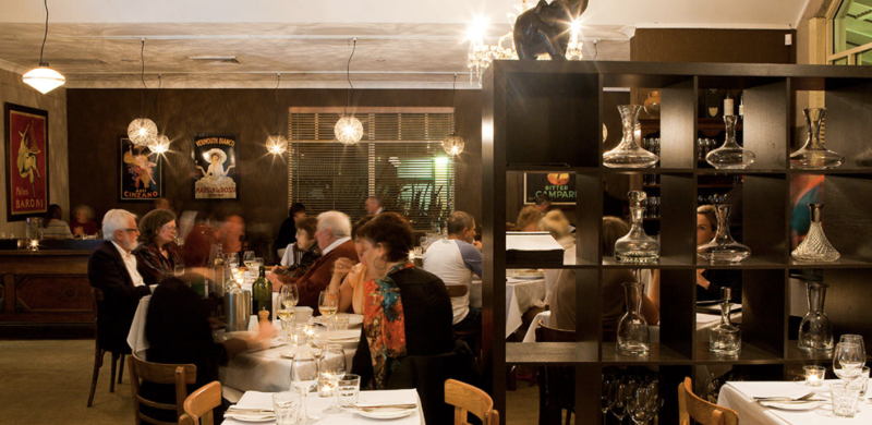 A warm, inviting dining room and exceptional Italian fare makes Onesta Cucina the right place for a special meal. Picture: Onesta Cucina