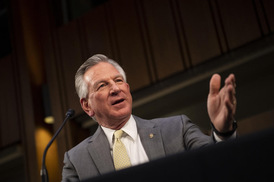 Sen. Tommy Tuberville (R-Ala.) (Caroline Brehman-Pool/Getty Images)