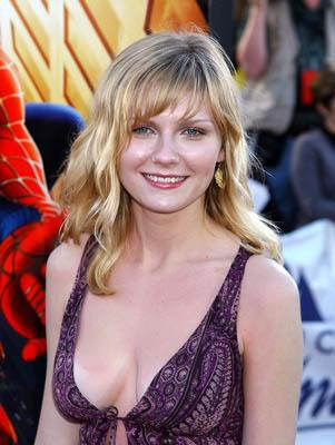 """Premiere: <a href=""""/movie/contributor/1800018860"""">Kirsten Dunst</a> at the LA premiere of Columbia Pictures' <a href=""""/movie/1803454613/info"""">Spider-Man</a> - 4/29/2002<br><font size=""""-1"""">Photo by <a href=""""http://www.wireimage.com"""">Gregg DeGuire/Wireimage.com</a></font>"""