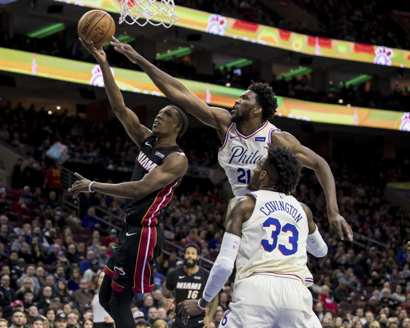 Philadelphia 76ers survive Heat after almost  blowing 26-point fourth-quarter lead