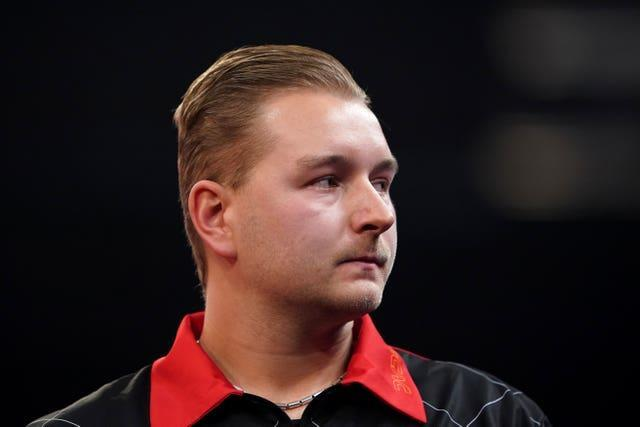 Dimitri Van Den Bergh is one of three players locked on 15 points at the top of the Premier League table