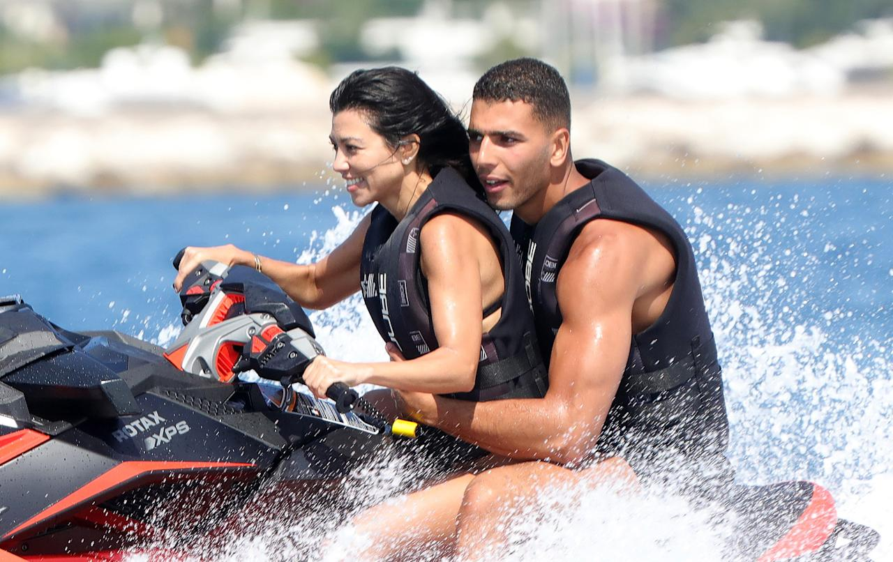 <p>The reality star and her rumored fling got in some jet ski action.</p>