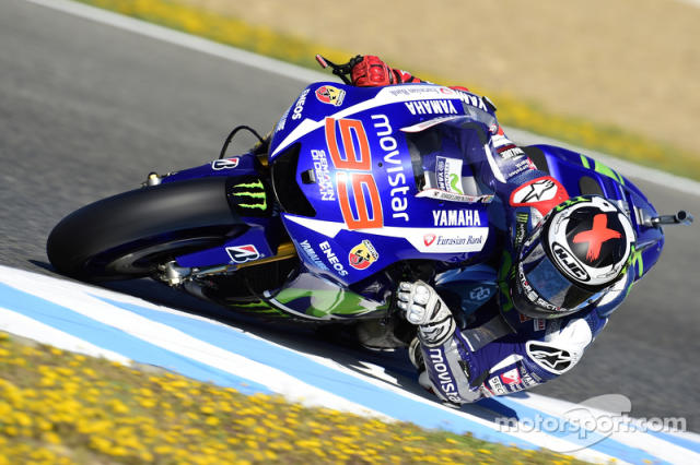 "2015: Jorge Lorenzo <span class=""copyright"">Bridgestone Corporation</span>"