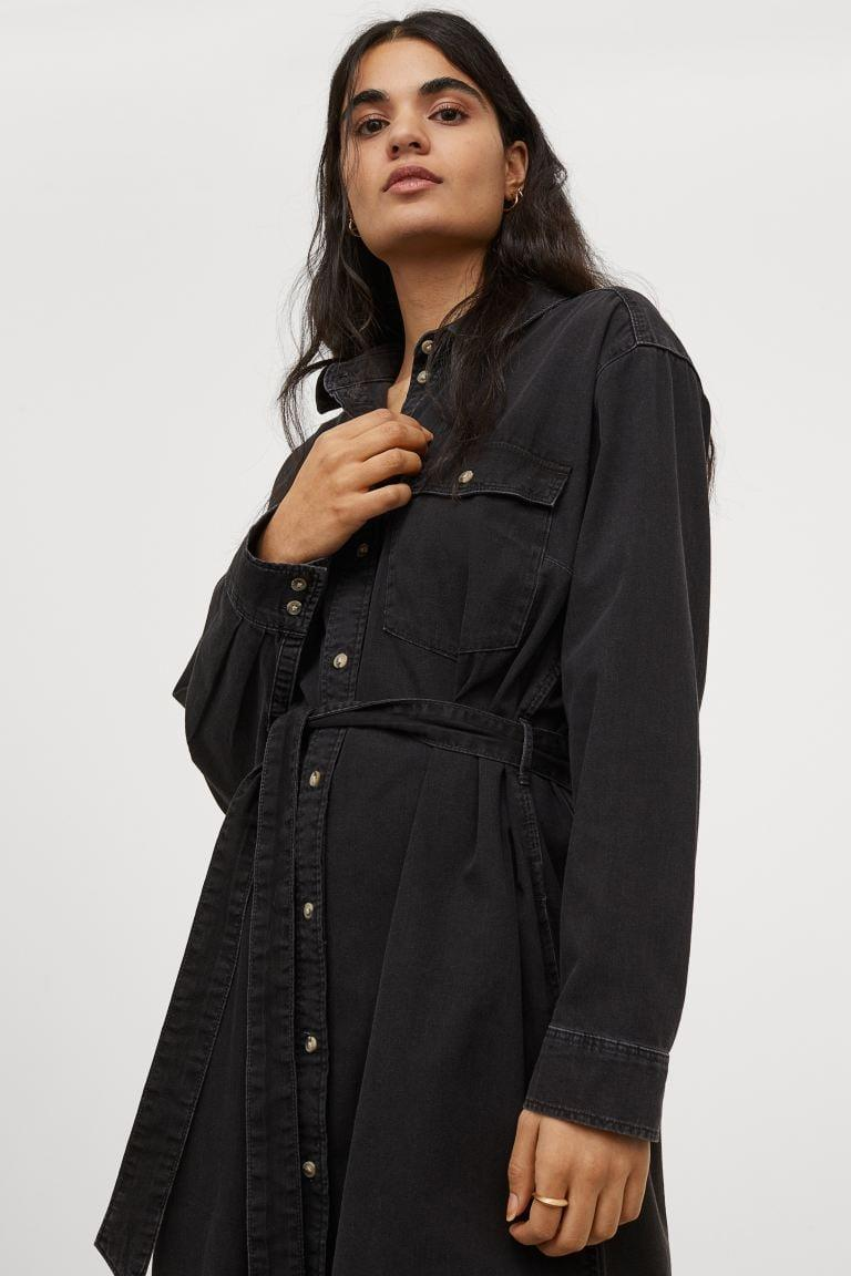 <p>This <span>Denim Shirt Dress</span> ($40) makes an intentional work uniform.</p>