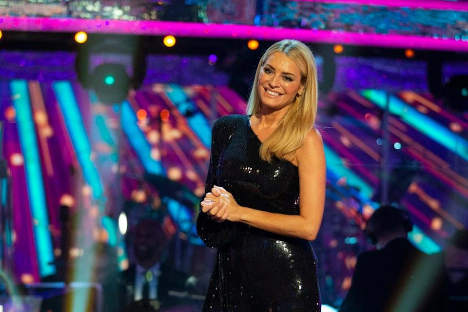 Tess Daly paid tribute to NHS frontline workers at the start of the show (Guy Levy/BBC/PA Wire)
