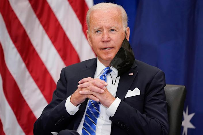 File. Joe Biden said in a 1994 interview that it wouldn't matter whether Haiti sunk into the Caribbean or rose up 300 feet (AP)